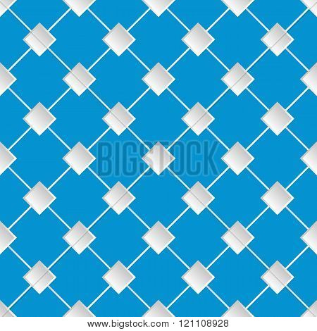 Blue abstract seamless texture pattern