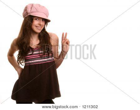 The Girl In A Cap