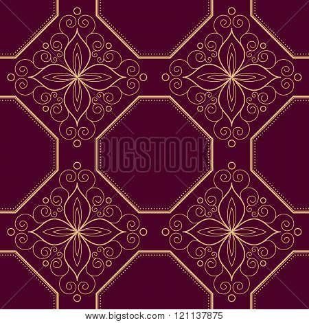 Ornamental Retro Pattern