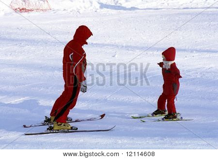 Winter recreational activity