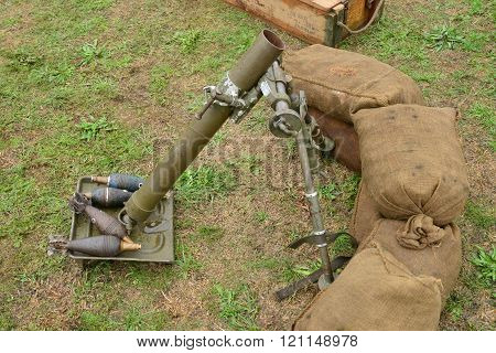 France,  Old Military Equipment Of The Second World War In Air Show Of Verneuil Sur Seine