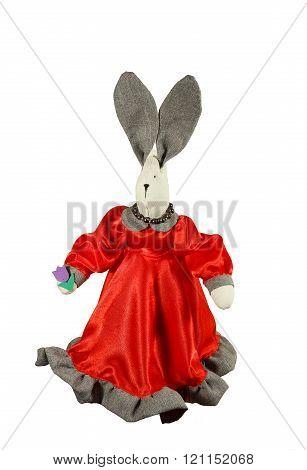 Decorative Handmade Toy - Rabbit. Tilde Doll.