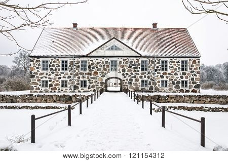 Hovdala Castle In Winter