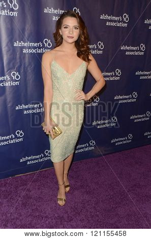 LOS ANGELES - MAR 9:  Katie Stevens at the A Night at Sardis - 2016 Alzheimer's Association Event at the Beverly Hilton Hotel on March 9, 2016 in Beverly Hills, CA