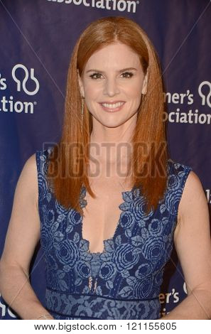 LOS ANGELES - MAR 9:  Sarah Rafferty at the A Night at Sardis - 2016 Alzheimer's Association Event at the Beverly Hilton Hotel on March 9, 2016 in Beverly Hills, CA