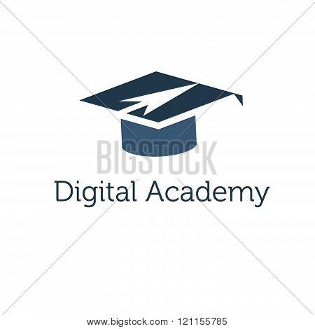 Graduation Cap With Arrow Icon