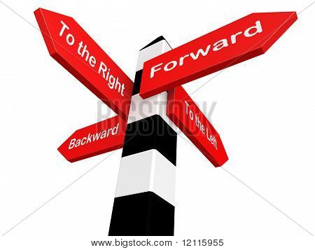 Conceptual Image Of Signpost