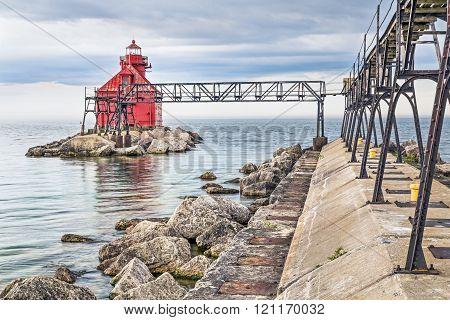 Sturgeon Bay Ship Canal North Pierhead Light