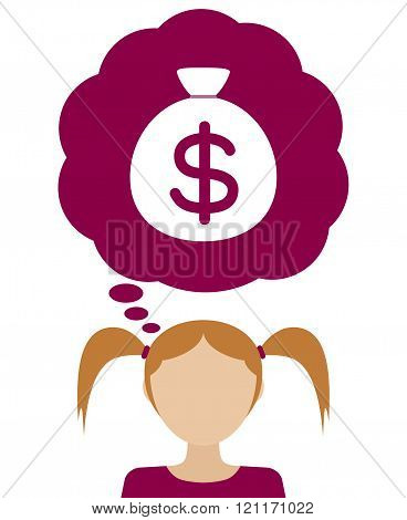 Woman Dream About Money.