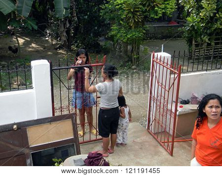 Painting a Gate
