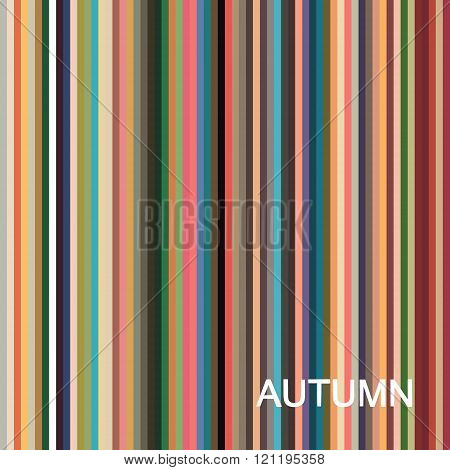 vector seasonal color analysis palette for autumn type. Type of female appearance