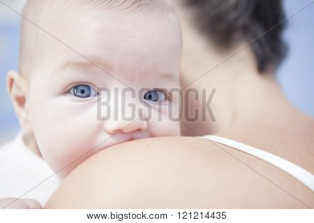 Mother Holding His Baby