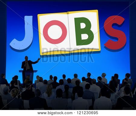 Jobs Occupation Work Career Profession Concept