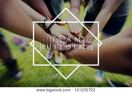 Team Building Team Collaboration Concept