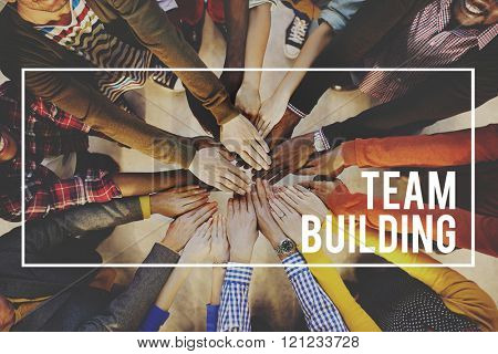 Team Building Collaboration Business Unity Group Concept