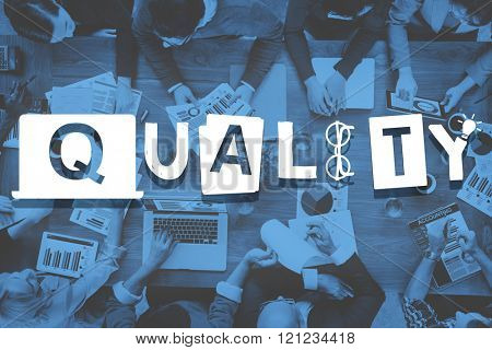 Quality Standard Value Condition Guarantee Concept