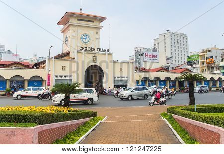 Cho Ben Thanh Or Ben Thanh Market In Ho Chi Minh City