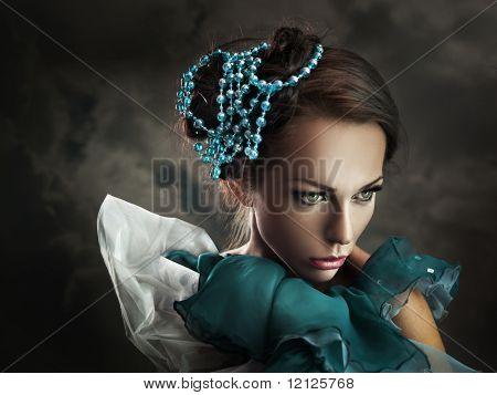 Portrait einer jungen Schönheit