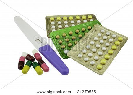 Contraception and birth control pills