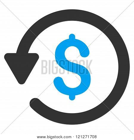 Rebate Flat Vector Icon