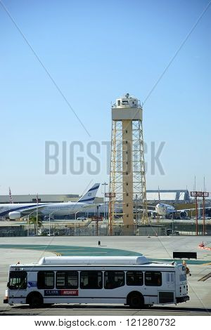 Airport grounds LAX Los Angeles