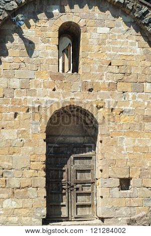 Sant Joan de les Abadesses (Catalunya Spain) - The medieval abbey poster