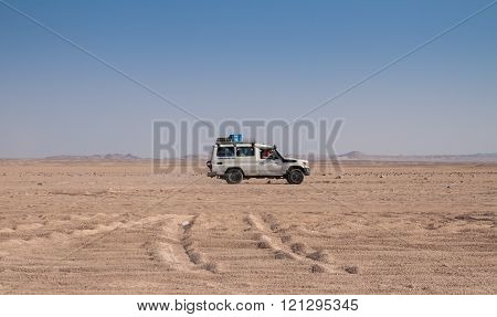 Trip On The Desert Near Hurghada