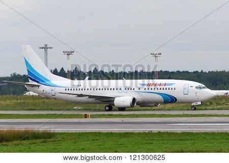 Boeing 737-400 Jet Aircraft