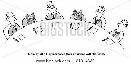 Increasing Influence