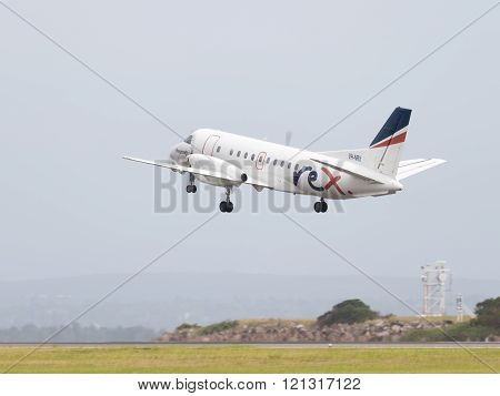 Passenger Saab Aircraft Co Regional Express