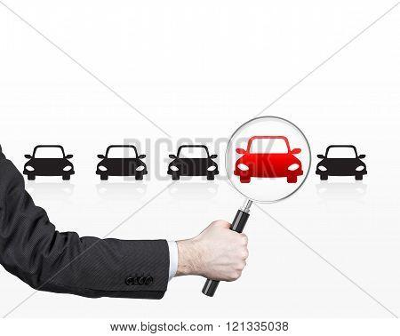 Man Choosing Car