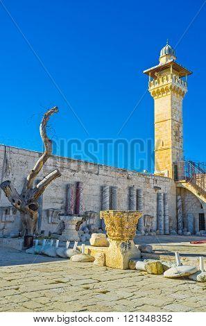 The Al-aqsa's Minaret