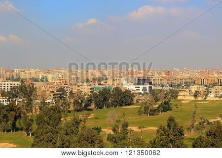 Golf Course In Cairo Egypt