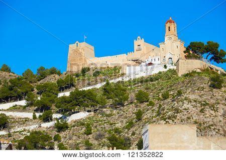 Cullera Nuestra Senora Encarnacion sanctuary in Valencia of Spain