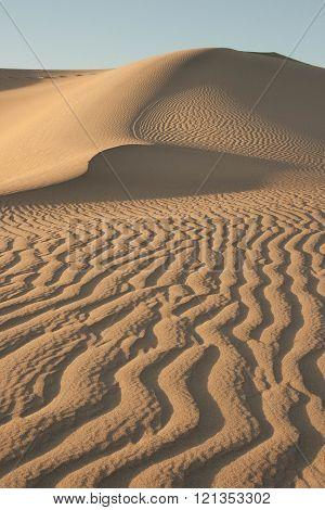 Waves on Sand Dunes