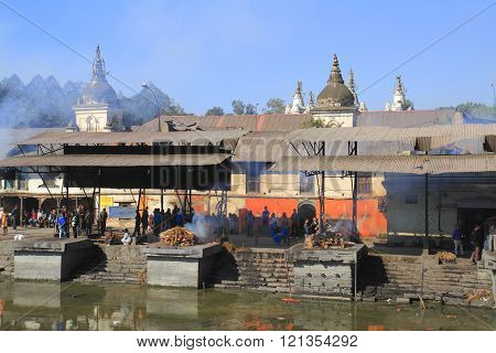 The Pashupatinath Temple