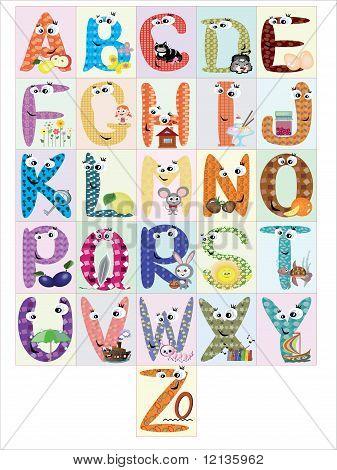 Alphabet,vector