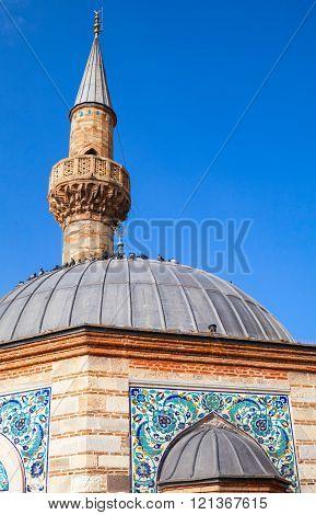 Camii mosque, Konak square, Izmir, Turkey