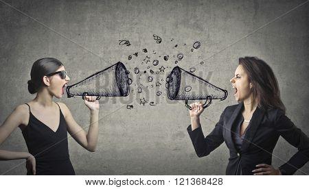 Quarrel between women