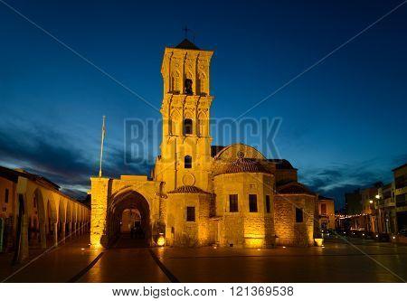 Church Of Saint Lazarus - Night View