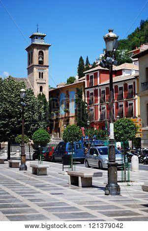 La Plaza Nueva, Granada.