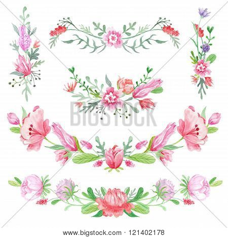 Shabby Chic Floral Vignettes