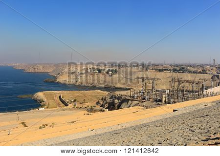 High Dam In Aswan Egypt
