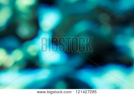 Abstract bokeh background from nature with copy space