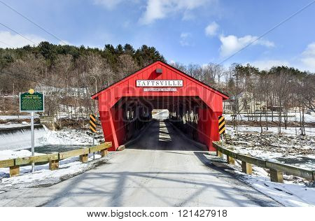 Taftsville Covered Bridge - Vermont