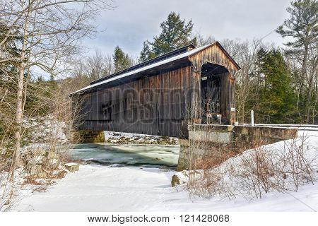 New Hampshire Covered Railroad Bridge