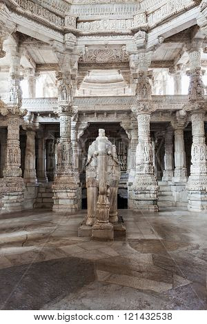 Ranakpur Temple Interior