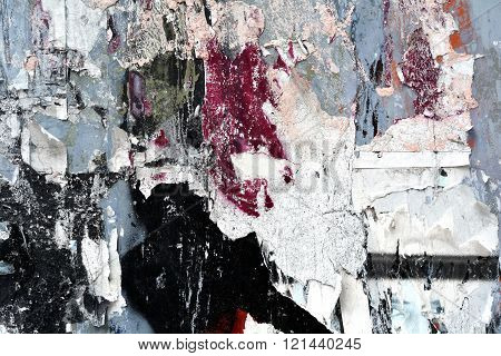 Torn Paper and paint Texture