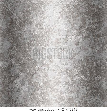Silver Metal Texture Grain Seamless