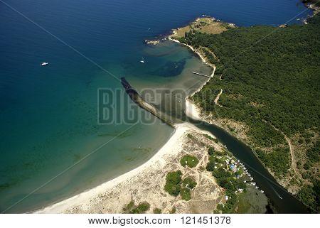 Where Ropotamo River Meets The Sea